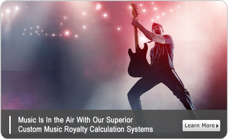 Learn about our music royalty calculation expertise